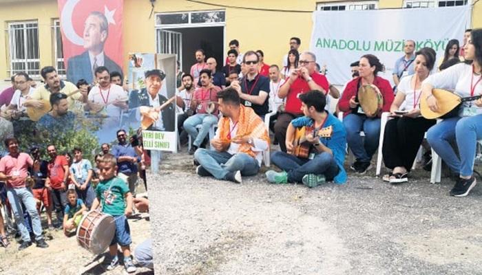 Müzik öğretmeni Anadolu'da otantik müzik köyleri kuruyor