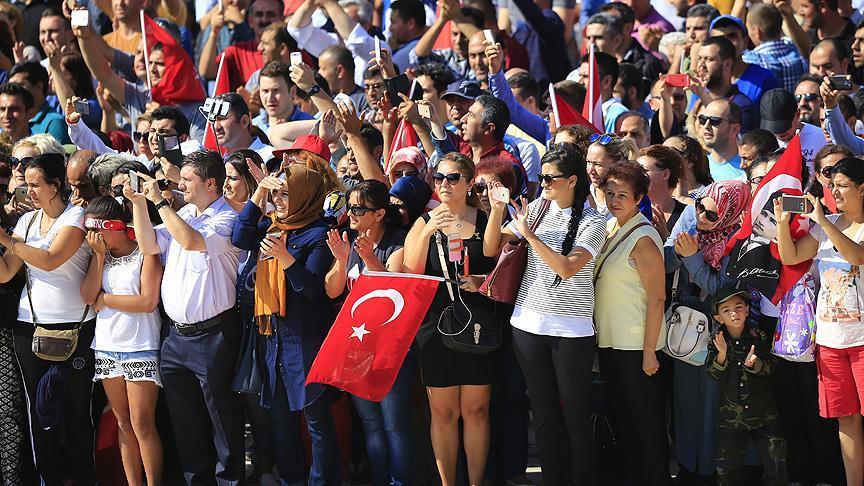 Tüm Türkiye'de 30 Ağustos coşkusu!