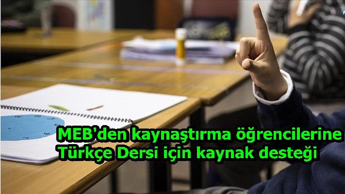 MEB'den kaynaştırma öğrencilerine Türkçe Dersi için kaynak desteği
