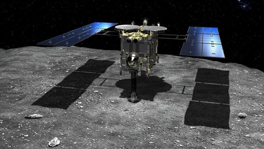Hayabusa2 Ryugu asteroidinde yapay krater oluşturdu