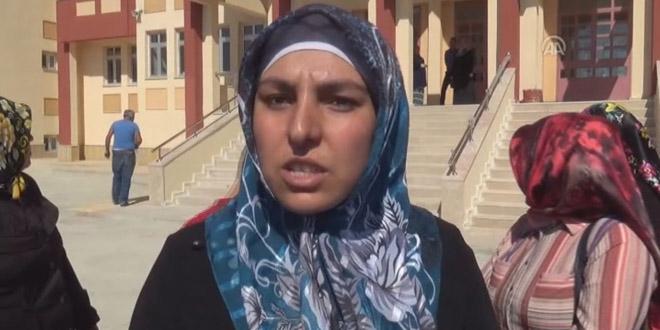 Yozgat'ta veliler okullarının açılmamasına tepki gösterdi