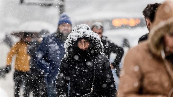 İstanbul için 'orta kuvvette' kar uyarısı