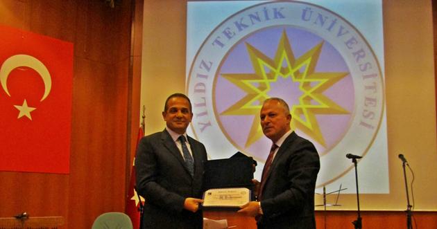Yıldız Teknik Üniversitesi'nden Ali Dumankaya'ya ödül