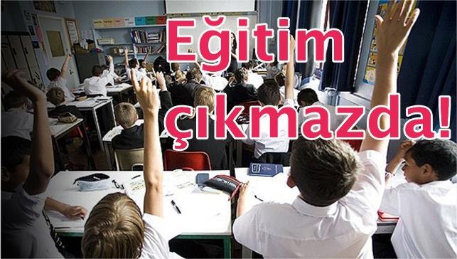 Türkiye'nin eğitim karnesi kırıklarla dolu!