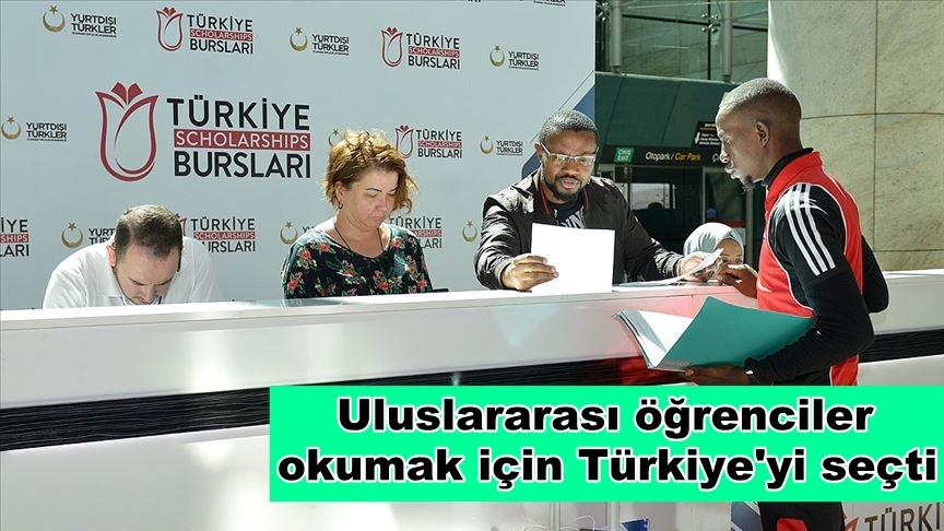 Uluslararası öğrenciler okumak için Türkiye'yi seçti