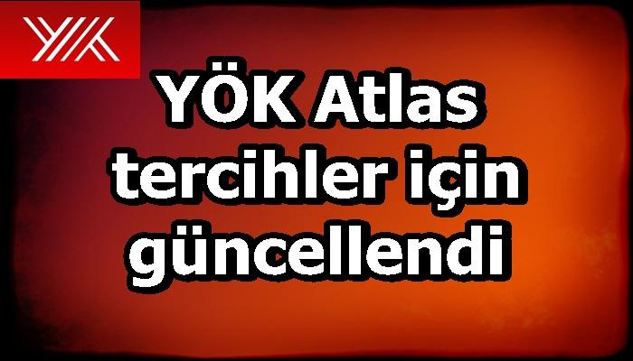 YÖK Atlas, tercih yapacak adaylar için güncellendi