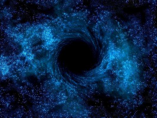 """Kara delik 11 yıldır aynı yıldızı """"çiğniyor"""""""