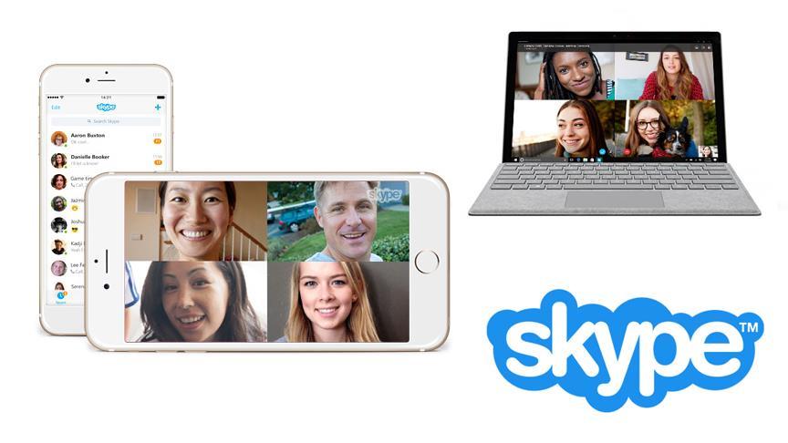İletişim uygulaması Skype yenilendi