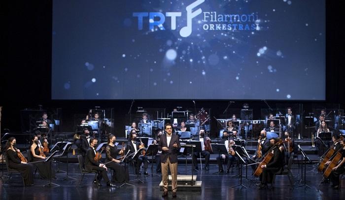 TRT Filarmoni Orkestrası ilk konseriyle sanatseverlerle buluştu