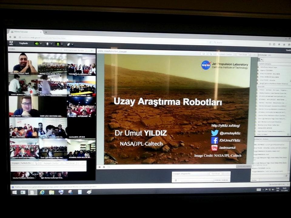 NASA ve Oxford'la bilime yolculuk serüveni devam ediyor...