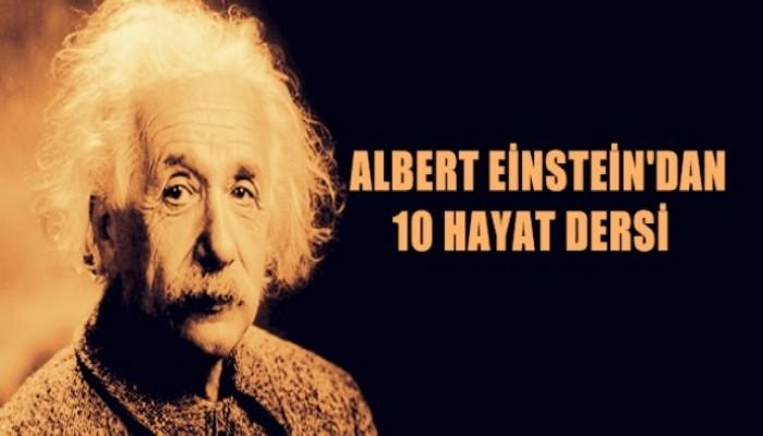 Albert Einstein'dan 10 Hayat Dersi
