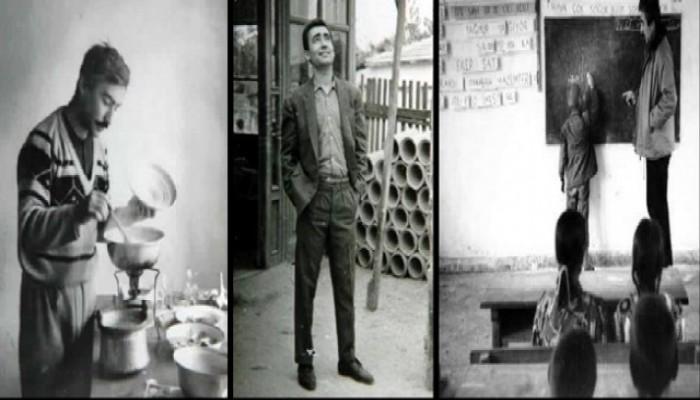 Şener Şen'in Öğretmenlik Yılları