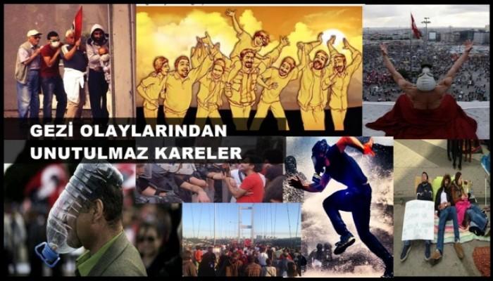 Gezi Olaylarının Unutulmaz Fotoğrafları